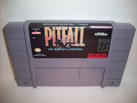Pitfall: The Mayan Adventure - SNES Game